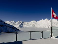 Mischabelkette Saas Fee, Winter, Mount Everest, Mountains, Nature, Travel, Winter Time, Naturaleza, Viajes