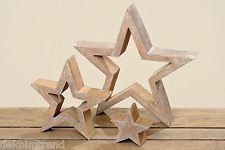 Wooden star mango brown silver Christmas deco stars table decoration set of 3 - DIY CHRİSTMAS Silver Christmas Decorations, Wood Stars, Christmas Star, Scroll Saw, Spring Crafts, Mango, Table Decorations, Silver Stars, Silver Table