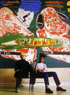 Warhol and Basquiat