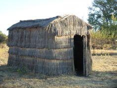 Chozo Tipico en el Centro de Visitantes Casa Palillos
