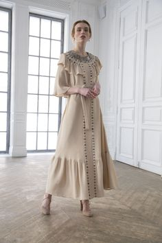 Levadnaja Details, Ready-To-Wear, Москва Simple Dresses, Stylish Dresses, Elegant Dresses, Vintage Dresses, Casual Dresses, Abaya Fashion, Muslim Fashion, Fashion Dresses, Abaya Mode