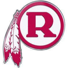 NFL Washingon Redskins Alternative Color Bling Emblem, Red