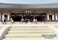 Gangnyeongjeon vom Gyeongbokgung Palace in Seoul, Südkorea