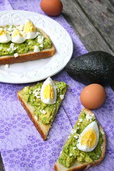 ValSoCal: Avocado, Egg Toasts with Feta