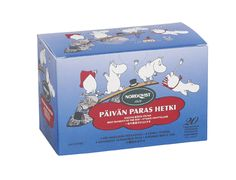 12 Boxes x 20 Bags of Nordqvist Moomin - Best Moment of The Day - Children's - Black - Bagged Tea (Finland) *** You can find more details by visiting the image link. (This is an affiliate link and I receive a commission for the sales) Tove Jansson, Scandinavian Art, Moomin, Iced Tea, Finland, Decorative Boxes, Packaging, In This Moment, Bags