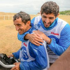 Saeed MJM y su sobrino Hamdan MRM, Italia, 14/06/2014. Vía: faz3