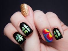 Coolest St. Patty's nails everrrr.