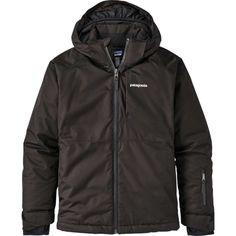 Kid's Patagonia Snowshot Jacket Big Boys' 2020 - X-Large Black Patagonia Outdoor, Patagonia Kids, Ski And Snowboard, Range Of Motion, Outdoor Outfit, Jackets Online, Big Boys, Large Black, Hooded Jacket