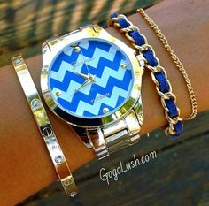 Love the zig zag design in the #watch