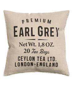 Product Detail | H&M GB - Earl Grey cushion cover