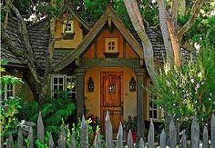 Fairytale houses in Carmel.