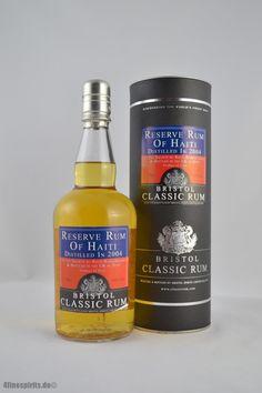 Im OnlineShop - Bristol Reserve Rum of Haiti 2004 43% 0,7l Tolle Geschenke mit Rum gibt es bei http://www.dona-glassy.de/Geschenke-mit-Rum:::22.html