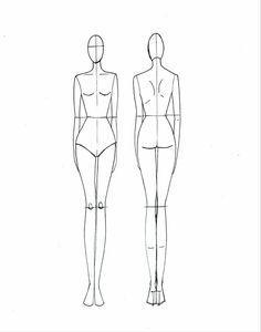 croquis corpo mulher - Pesquisa Google