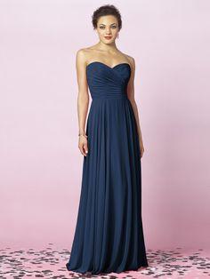 After Six Bridesmaids Style 6639    Fabric: Lux Chiffon purchase swatch