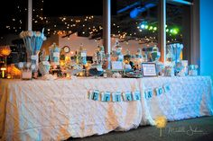 Tiffany Blue Sweet 16 Party » Classic Touch