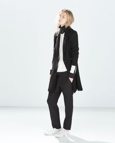 Image 1 of TOMBOY COAT from Zara
