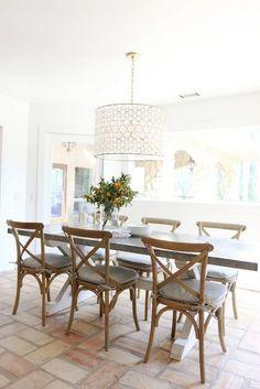 Rangeview Reno Kitchen Nook Studio Mcgee Studio And Nook - Dining room drum chandelier