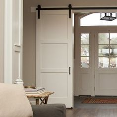 3 Panel Craftsman Sliding Barn Door