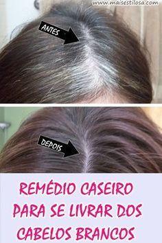 Você sabia que é possível se livrar dos cabelos brancos com apenas dois ingredientes? Quem não gosta de ter os fios brancos e quer mudar a cor dos cabelos sem precisar aplicar tintura precisa conhecer essa receita.