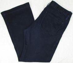 Women Gap 1969 Long & Lean Jeans Dark Wash Mid Rise Flare sz 30 X 28 #GAP #Flare