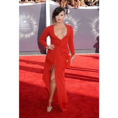 Demi Lovato, Beyonce, And More Are Best Dressed At The 2014 VMAs ❤ liked on Polyvore featuring demi and demi lovato