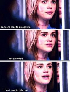 Teen wolf - Alpha Pact //lydia martin is seriously so strong //