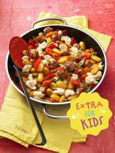 Schnelle Gnocchipfanne, die der ganzen Familie schmeckt - jetzt bei Chefkoch Kids!