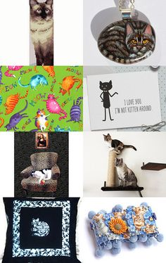 That Darn Cat! by Mary and Paul on Etsy--Pinned with TreasuryPin.com