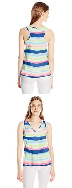 Lilly Pulitzer Women's Jaylynne Top Printed, 999:MULTISB8 :Cats Meow Stripe Reduced, S