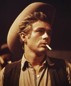 "James Dean en ""Gigante"" (Giant), 1956"