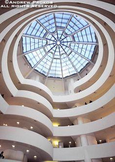 Guggenheim Museum Interior III - http://andrewprokos.com/photos/new-york/