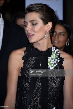 Charlotte Casiraghi arrives to the opening season gala at Opera Garnier on September 21, 2017 in Paris, France.