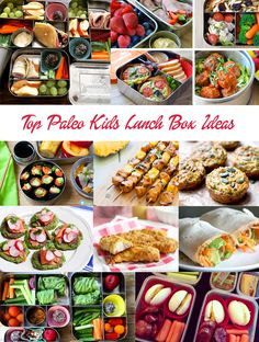 Kids Paleo lunch box ideas - nut free, portable, fun. Click to see more: http://eatdrinkpaleo.com.au/paleo-kids-lunch-box-ideas-nut-free/