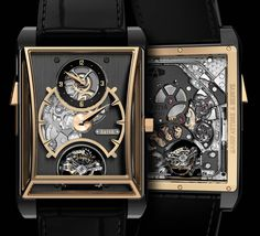"""ArtyA 3 Gongs Minute Repeater, Regulator, & Double Axis Tourbillon Watch - by Ariel Adams - on aBlogtoWatch.com """"For Baselworld 2016, Yvan Arpa's ArtyA brand will reveal their most complicated watch to date: the ArtyA 3 Gongs Minute Repeater, Regulator, & Double Axis Tourbillon as a one-of-a-kind timepiece (though other variations can be ordered). With a mouthful of a name, the watch attempts to showcase the brand's ability to deliver not only unique cases and designs..."""""""