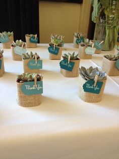 How to Use Wedding Favor Sayings to Personalize Your Wedding Favor Choices - Put the Ring on It Plant Wedding Favors, Custom Wedding Favours, Diy Wedding, Rustic Wedding, Wedding Gifts, Wedding Plants, Trendy Wedding, Church Wedding, Perfect Wedding