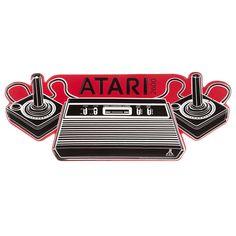 Atari Embossed Tin Sign