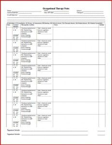 school ot progress notes form - Re-pinned by @PediaStaff – Please Visit http://ht.ly/63sNt for all our pediatric therapy pins