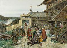 Хоромы- жилища князей и бояр : Терем – высокое деревянное здание-башня