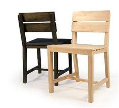 Eetstoelen van #pallets Repurposed Furniture, Wooden Furniture, Furniture Design, Outdoor Furniture, Diy Pallet Projects, Wood Projects, Wood Pallets, Pallet Wood, Outdoor Chairs