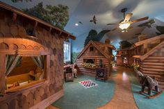Traditional Indoor Playhouse Kids Design Ideas, Pictures, Remodel and Decor