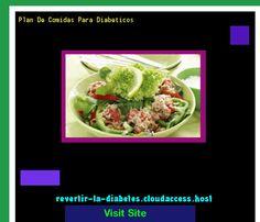 Plan De Comidas Para Diabeticos 190505 - Aprenda como vencer la diabetes y recuperar su salud.