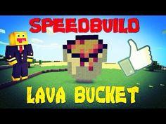 MCPE|Speedbuild|Lava Bucket