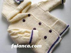 Dikişsiz Yeni Doğan Bebek Yelek Örnekleri ve Modelleri