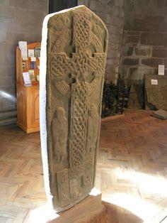 angus scotland   ... Angus Scotland/Scottish Cross stone Brechin Cathedral Angus.JPG