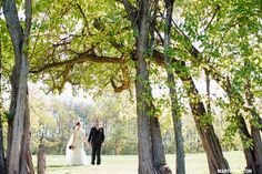 Nazareth Hall Ohio fall wedding   http://marywyar.com