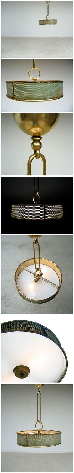 Ceiling lamp Pierre Disderot Guariche 1950