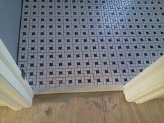 [ Black White Tile Flooring Ideas Black White Bathroom Floor Tile Timeless Black White Master Bathroom Makeover Bathroom Ideas ] - Best Free Home Design Idea & Inspiration Ceramic Floor Tiles, Bathroom Floor Tiles, Ceramic Flooring, Tile Flooring, Floors, Floor Patterns, Tile Patterns, Black And White Master Bathroom, Modern Flooring