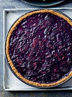Bangin' berry tart recipe from The Medicinal Chef: Healthy Every Day by Dale Pinnock Cooked Fun Desserts, Delicious Desserts, Dessert Recipes, Yummy Food, Healthy Food, Tart Recipes, Sweet Recipes, Berry Tart, Le Chef