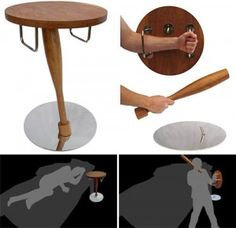 I WANT! Self-defense night stand