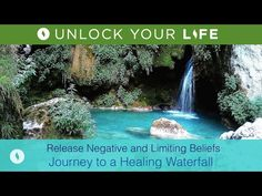 Release Negative and Limiting Beliefs | Healing Hypnosis and Meditation Journey to a Waterfall - YouTube